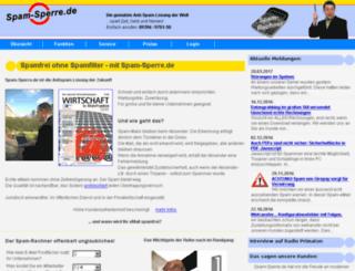 email-spamfrei.de screenshot