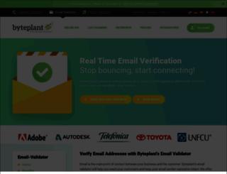 email-validator.net screenshot