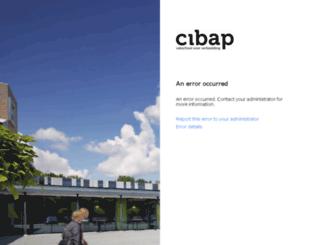 email.cibap.nl screenshot