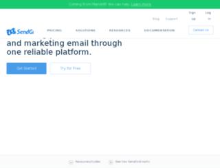 email.webminds.com screenshot