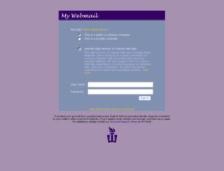 email.winona.edu screenshot
