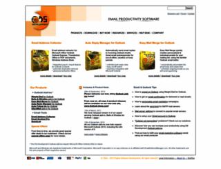 emailaddressmanager.com screenshot