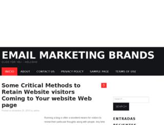 emailmarketingbrands.info screenshot