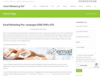 emailmarketingpro.com screenshot