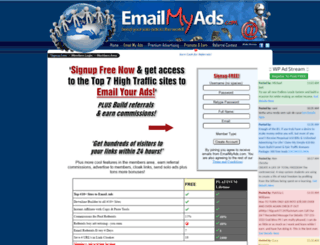 emailmyads.com screenshot
