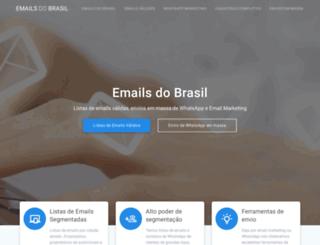 emailsdobrasil.com.br screenshot