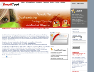 emailtool.de screenshot