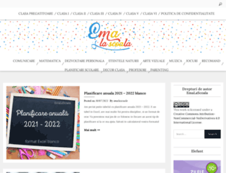 emalascoala.blogspot.ro screenshot