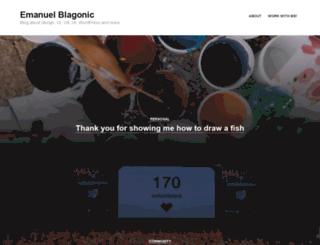 emanuelblagonic.com screenshot