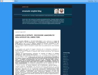 emanueleverghini.blogspot.it screenshot