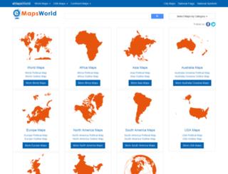 emapsworld.com screenshot