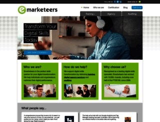 emarketeers.com screenshot