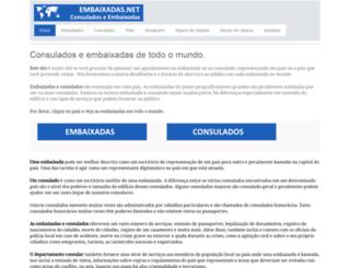 embaixadas.net screenshot