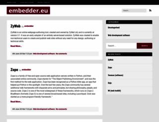 embedder.eu screenshot
