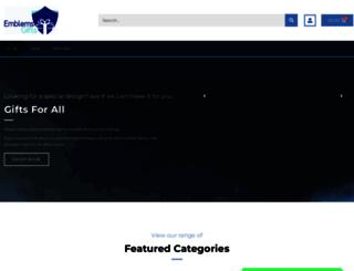 emblems-gifts.co.uk screenshot