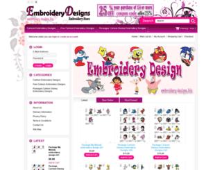 embroidery-designs.biz screenshot