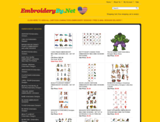 embroideryby.net screenshot