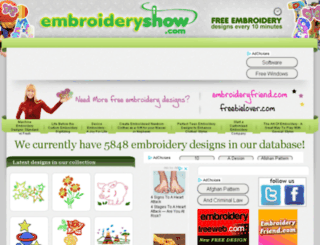embroideryshow.com screenshot