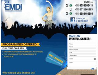 emdidelhi.com screenshot