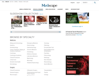 emedicine.com screenshot