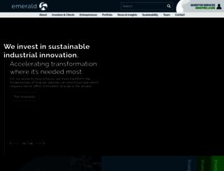 emerald-ventures.com screenshot