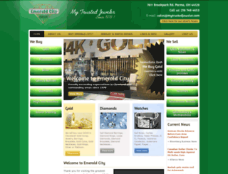 emeraldcityjewelers.net screenshot