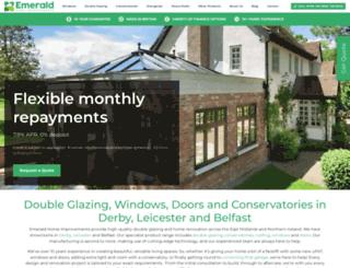 emeraldhomeimprovements.co.uk screenshot