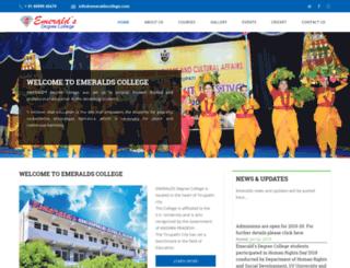 emeraldscollege.com screenshot