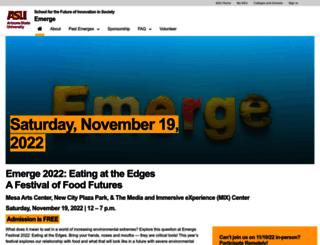 emerge.asu.edu screenshot