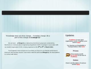 emerge2011.in screenshot