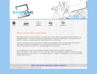 emergingmedia.in screenshot