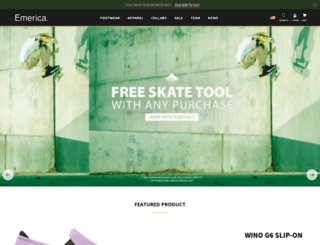 emericaskate.com screenshot