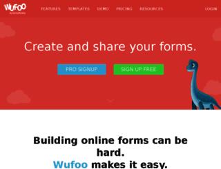 emeriti.wufoo.com screenshot