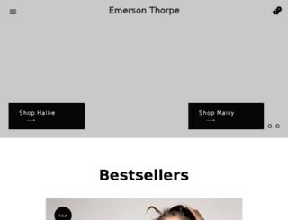 emersonthorpe.com screenshot