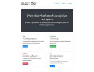 emetor.com screenshot