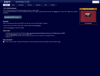 emff.sourceforge.net screenshot