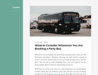 emg-zine.com screenshot