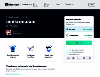 emikron.com screenshot