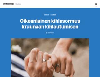 emiliadesign.fi screenshot