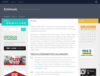 emimusic.ca screenshot