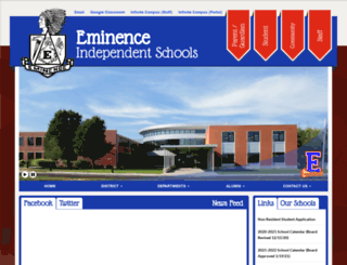 eminence.kyschools.us screenshot