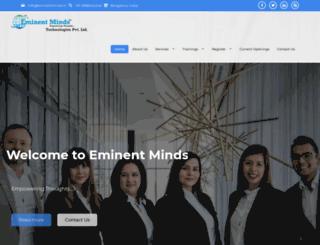 eminentmindz.com screenshot