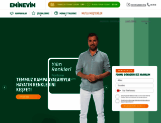 eminevim.com.tr screenshot