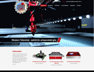 eminmakine.com.tr screenshot