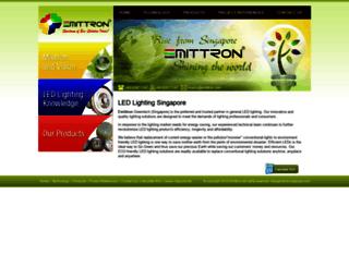 emittron.com screenshot