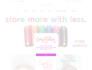 emjohnjewelry.com screenshot