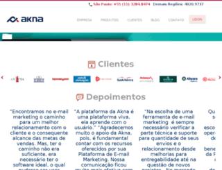 emkt.famozza.com.br screenshot