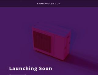 emmamiller.com screenshot