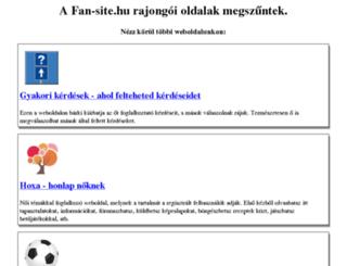 emmastone.fan-site.hu screenshot