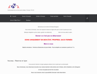 emmaus-bougival.com screenshot